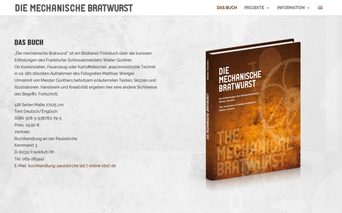 Die mechanische Bratwurst - Netzweite Webdesign Berlin